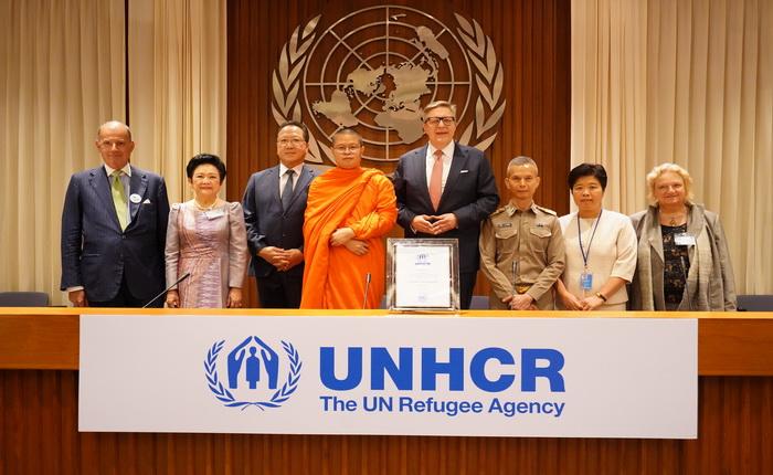 UNHCRประเทศไทยจัดงานแสดงมุทิตาจิตแด่ ท่าน ว.วชิรเมธี