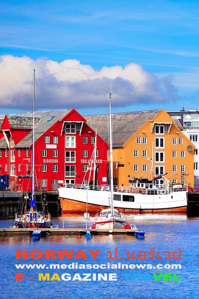 ประเทศนอร์เวย์ NORWAY เมืองทรูมเซอ TROMSOO