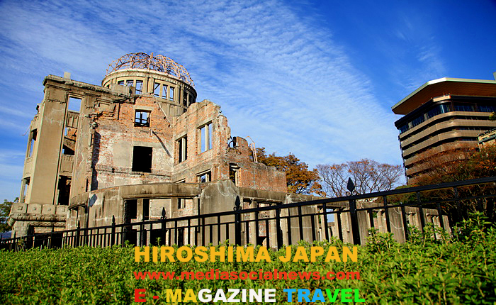 ฮิโรชิมะ ญี่ปุ่น Hiroshima japan โดมปรมาณู (Atomic Bomb Dome)