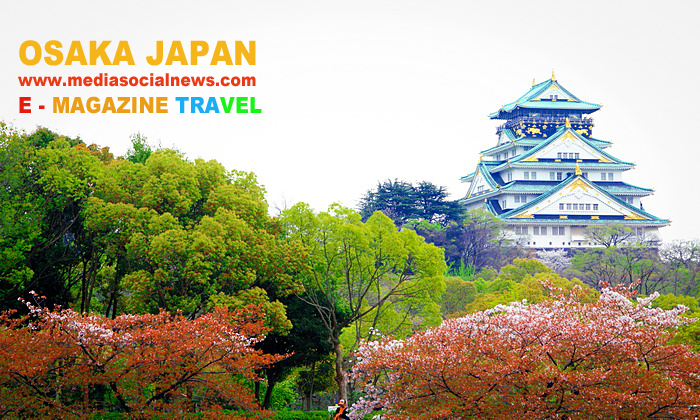 ปราสาทโอซาก้า ญี่ปุ่น