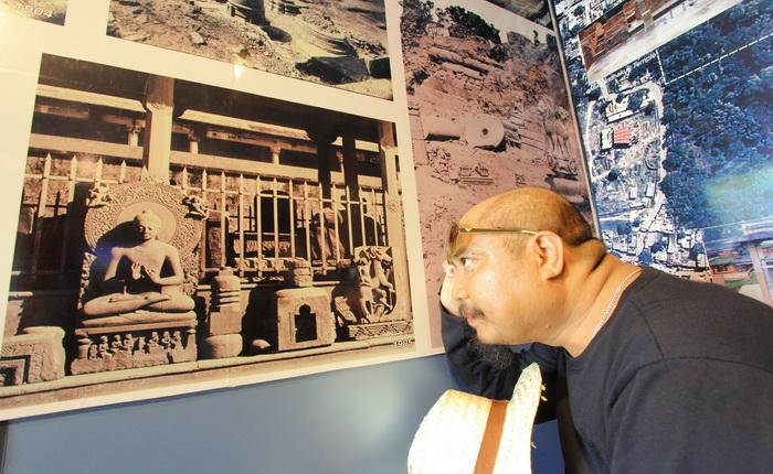 พระปางปฐมเทศนา พิพิธภัณฑ์สารนาถ ห้องจัดแสดงสารนาถ